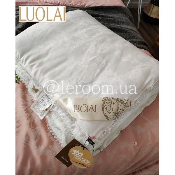 Летнее одеяло LUOLAI из шёлка Mulberry Белое