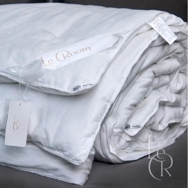 Зимнее одеяло LeRoom из шёлка Mulberry Белое