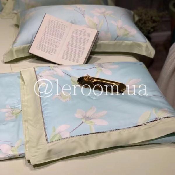 Летнее одеяло Тенсель (Эвкалипт) Мятный + комплект