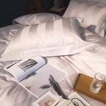 Постельное белье для отелей из египетского хлопка 120S
