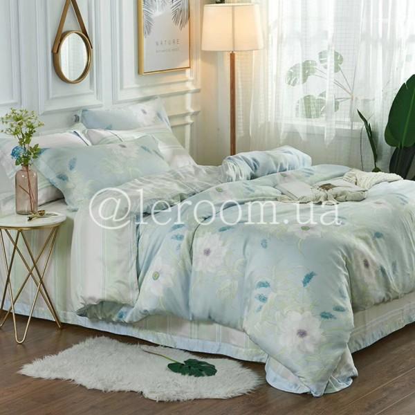 Тенсел (Эвкалиптовое волокно) С белыми цветами