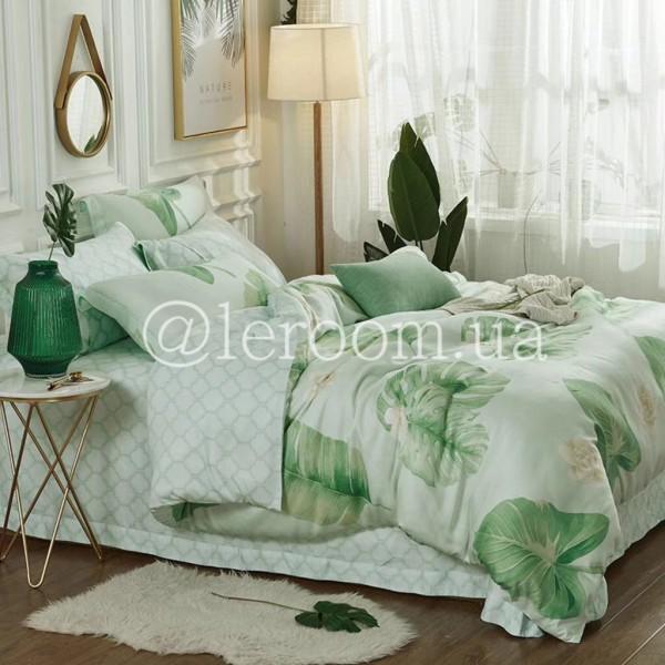 Тенсел (Эвкалиптовое волокно) С пальмовыми листьями